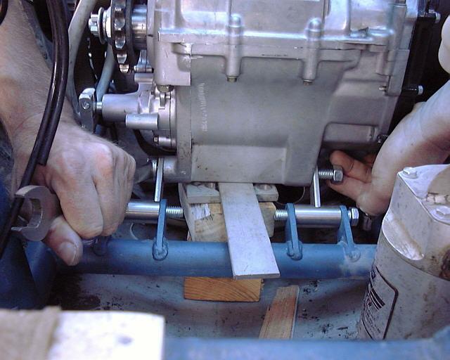 Hayabusa motor mount