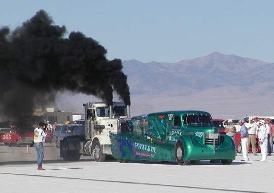 These trucks wouldn't pass smog, even from 300 miles away.